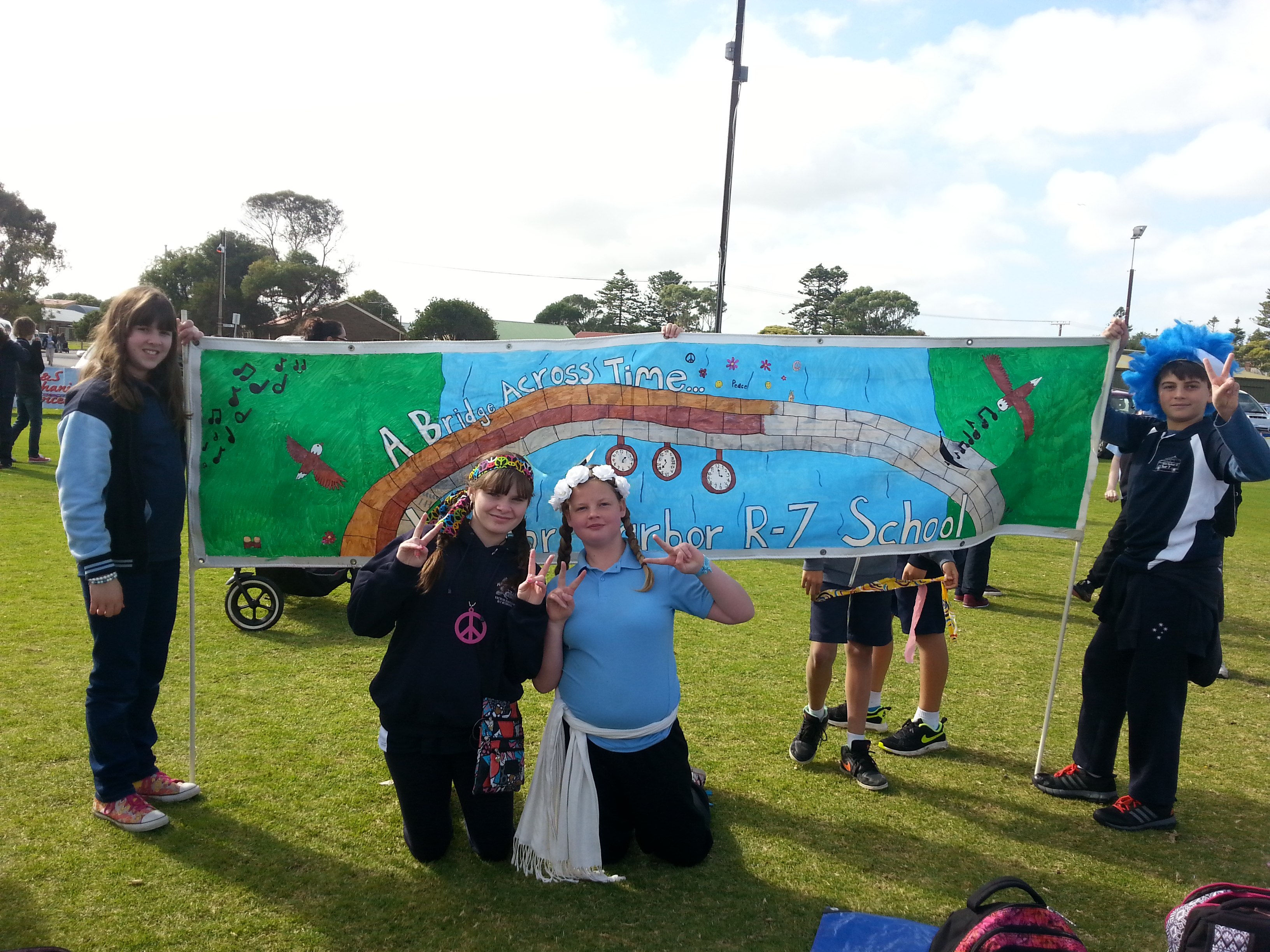 Come Out Goolwa Banner